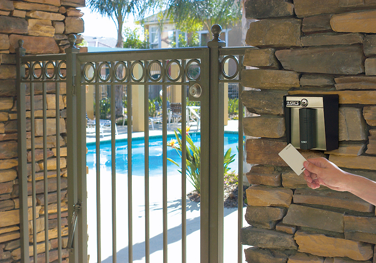 community-control-service-keypad-pool-gate-access-control